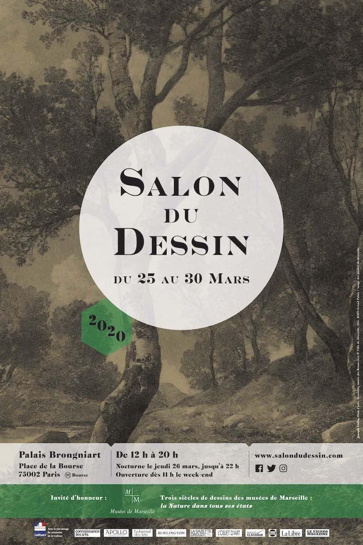 Affiche du salon du Dessin 2020