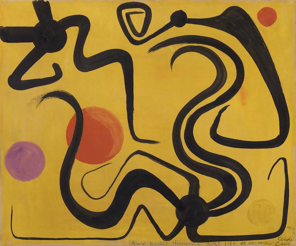 AB galerie, Alexandre Calder, Composition abstraite