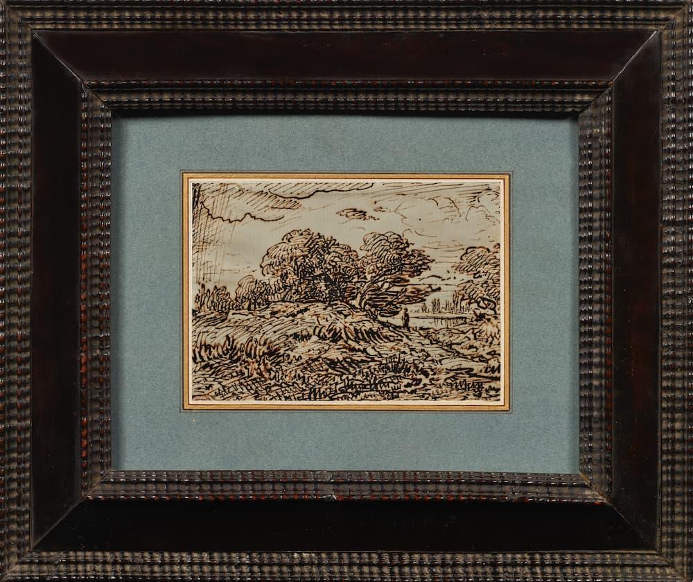 Didier Aaron, Théodore Rousseau, Promeneur dans un paysage