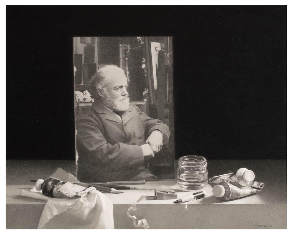 Artur Ramon Art, Pere Santilari, Fantin-Latour dans son atelier