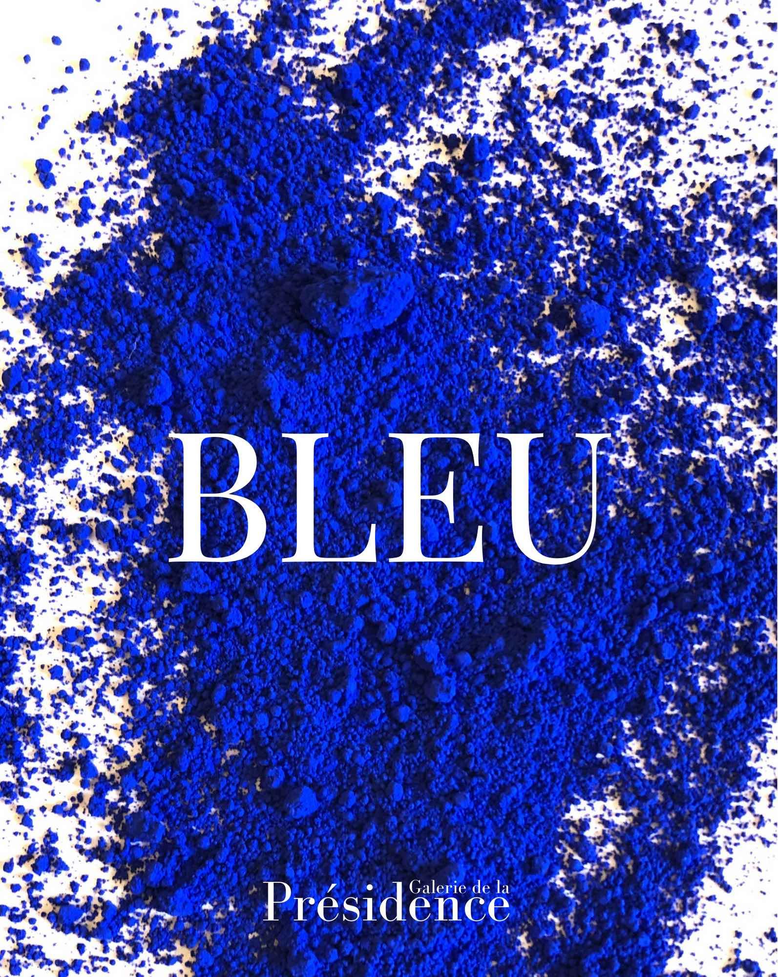 Catalogue BLEU, galerie de la Présidence, Paris