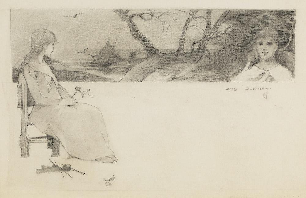 Lancz Gallery, Auguste Donnay, Rêverie