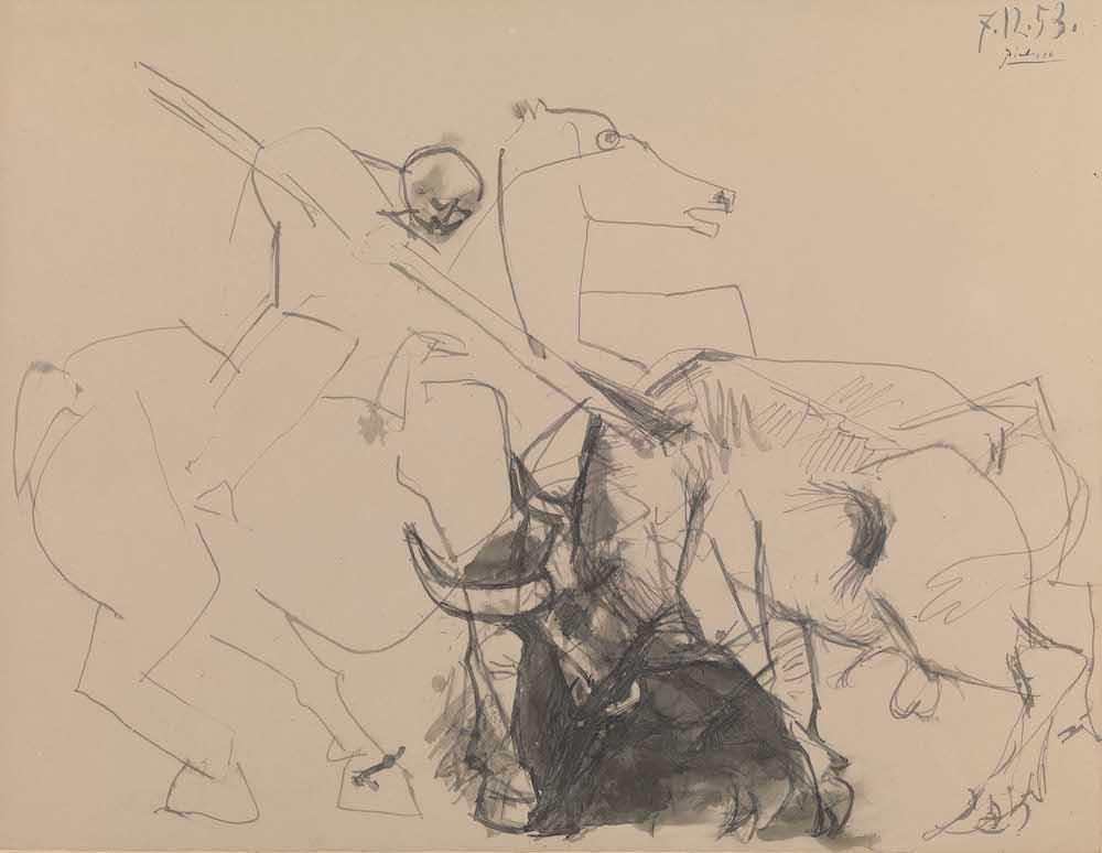 Stephen Ongpin, Pablo Picasso, Le picador