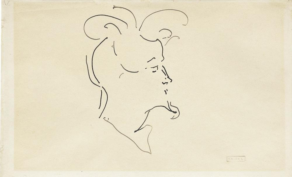 Reginart Collection, Henri de Toulouse-Lautrec, Portrait de Henri Rochefort-Luçay