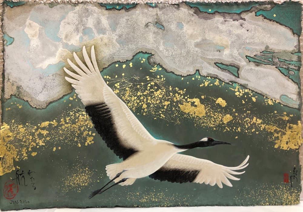Galerie Taménaga, Kyosuke Tchinaï, Crossing