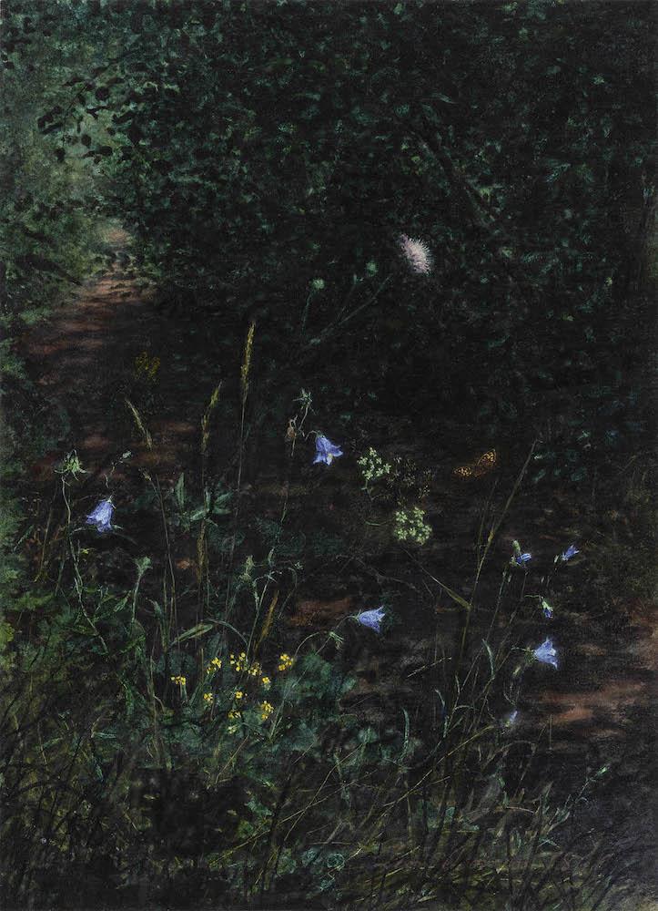 Talabardon & Gautier, Léon Bonvin, Chemin bordé de fleurs sauvages