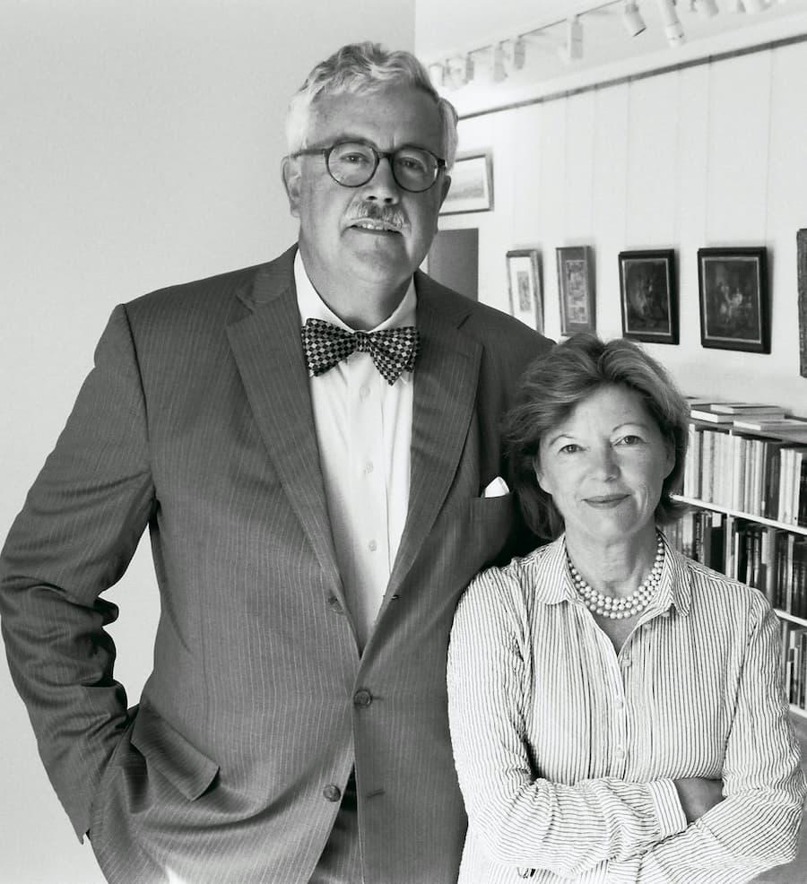 Angelika Arnoldi-Livie et Bruce Livie