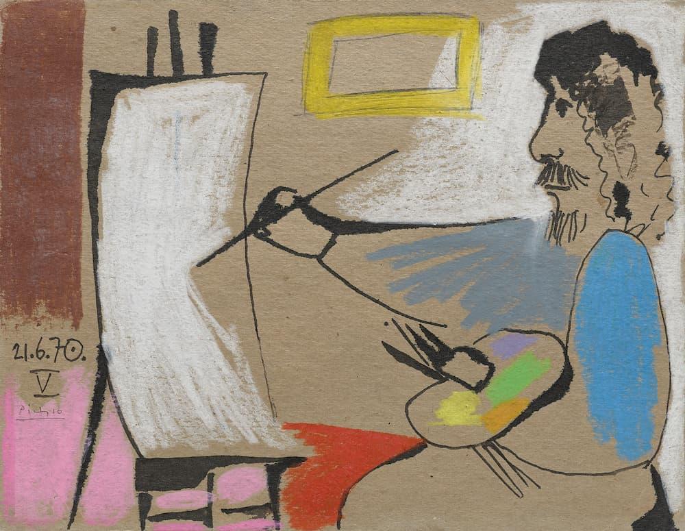 Waddington Custot, pablo Picasso, Le peintre
